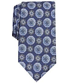 Tasso Elba Men's Hayes Classic Medallion Tie, Created for Macy's