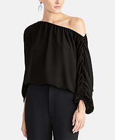 RACHEL Rachel Roy Cinched One-Shoulder Top