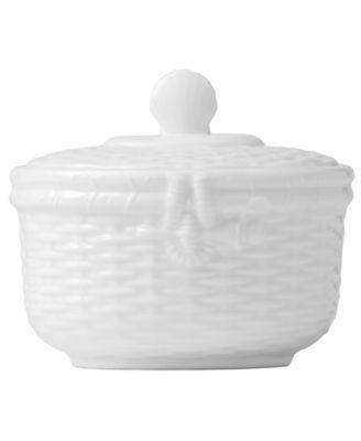 Dinnerware, Nantucket Basket Sugar Bowl