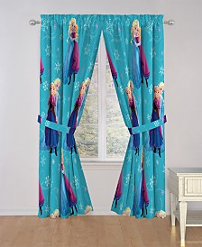 "Disney Frozen Swirl 84"" Drapes"