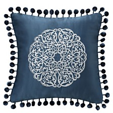 """Waterford Jonet 16"""" X 16"""" Square Collection Decorative Pillow"""
