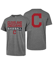 '47 Brand Men's Cleveland Indians Rival Bases Loaded T-Shirt