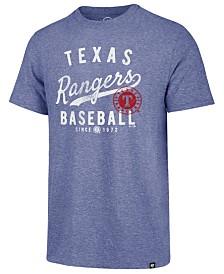 '47 Brand Men's Texas Rangers Grandstand Triblend T-Shirt