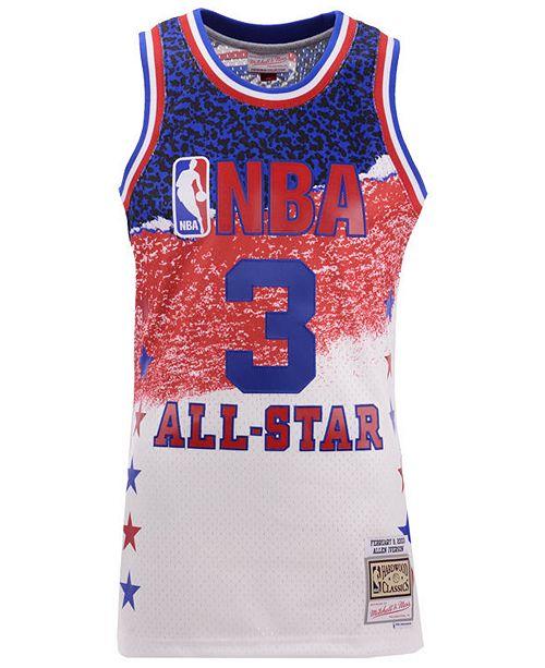 on sale 0f850 8801a Men's Allen Iverson NBA Fashion All Star Swingman Jersey