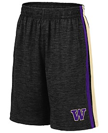 Colosseum Big Boys Washington Huskies Team Stripe Shorts