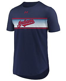 Under Armour Men's Cleveland Indians Seam to Seam T-Shirt