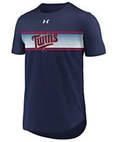 timeless design 3e978 4ce4d Under Armour Men s Minnesota Twins Seam to Seam T-Shirt