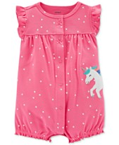368255f220c Carter s Baby Girls Cotton Romper
