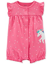 2dcdb048d Carter's Baby Girls Cotton Romper