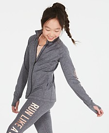 Ideology Big Girls Run Girl Zip-Up Jacket, Created for Macy's
