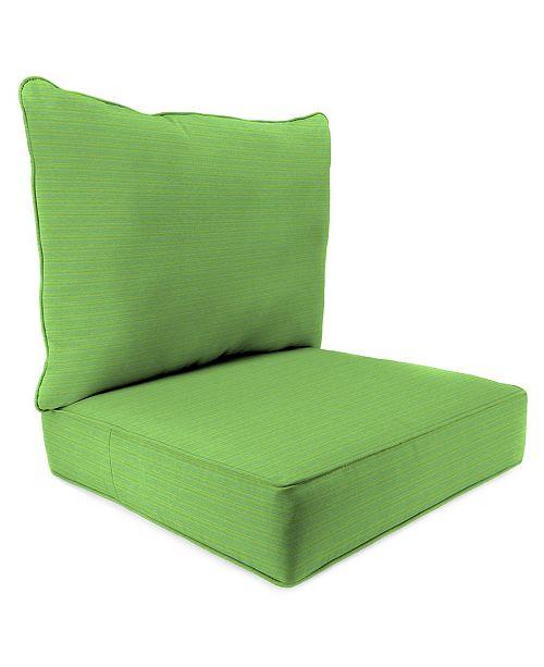 Jordan Manufacturing Outdoor 2-Piece Deep Seat Chair Cushion - 1 pack