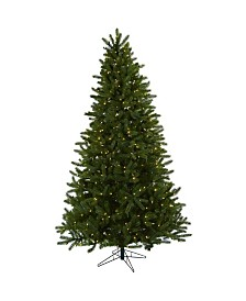 Nearly Natural 7.5' Rembrandt Christmas Tree w/Clear Lights