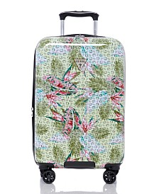 "GUESS Fashion Travel Dupree 20"" Spinner Upright Hardside Luggage"