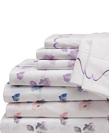 Spring Meadow Print/ Embroidered Sheet Sets