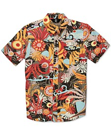 Volcom Toddler Boys Printed Button-Front Shirt