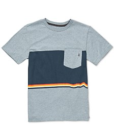 Volcom Big Boys Colorblocked Pocket T-Shirt