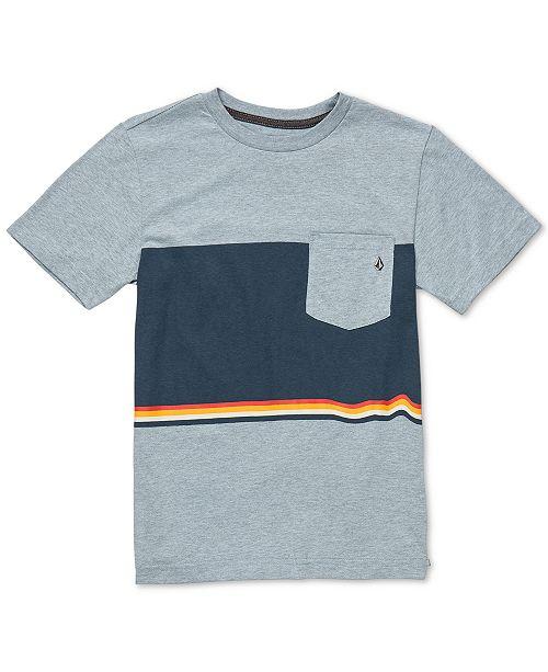 Volcom Toddler Boys Colorblocked Pocket T-Shirt