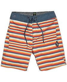 Volcom Little Boys Aura Stretch Stripe Board Shorts