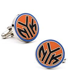 New York Knicks NYK Logo Cufflinks
