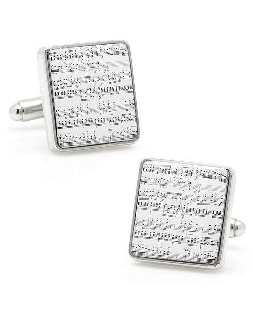 Cufflinks Inc. Classical Sheet Music Cufflinks