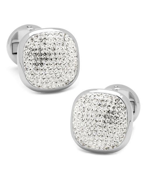 Cufflinks Inc. Pave Crystal Cufflinks