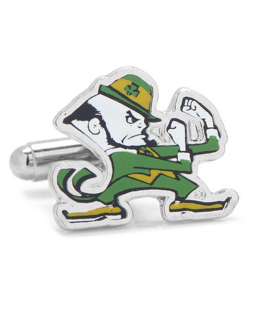 Cufflinks Inc. Notre Dame University Fighting Leprechaun Cufflinks