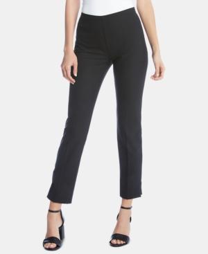 Karen Kane Pants ZIP-HEM CROPPED PANTS