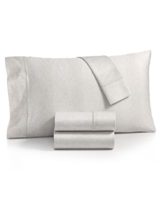 Sleep Luxe Cotton 800-Thread Count 4-Pc. Printed Extra Deep Pocket Queen Sheet Set, Created for Macy's