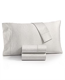 Sleep Luxe Cotton 800-Thread Count 4-Pc. Printed King Sheet Set, Created for Macy's