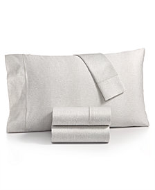 Charter Club Sleep Luxe Cotton 800-Thread Count 4-Pc. Printed King Sheet Set, Created for Macy's