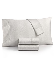 Charter Club Sleep Luxe Cotton 800-Thread Count 4-Pc. Printed Extra Deep Pocket California King Sheet Set, Created for Macy's