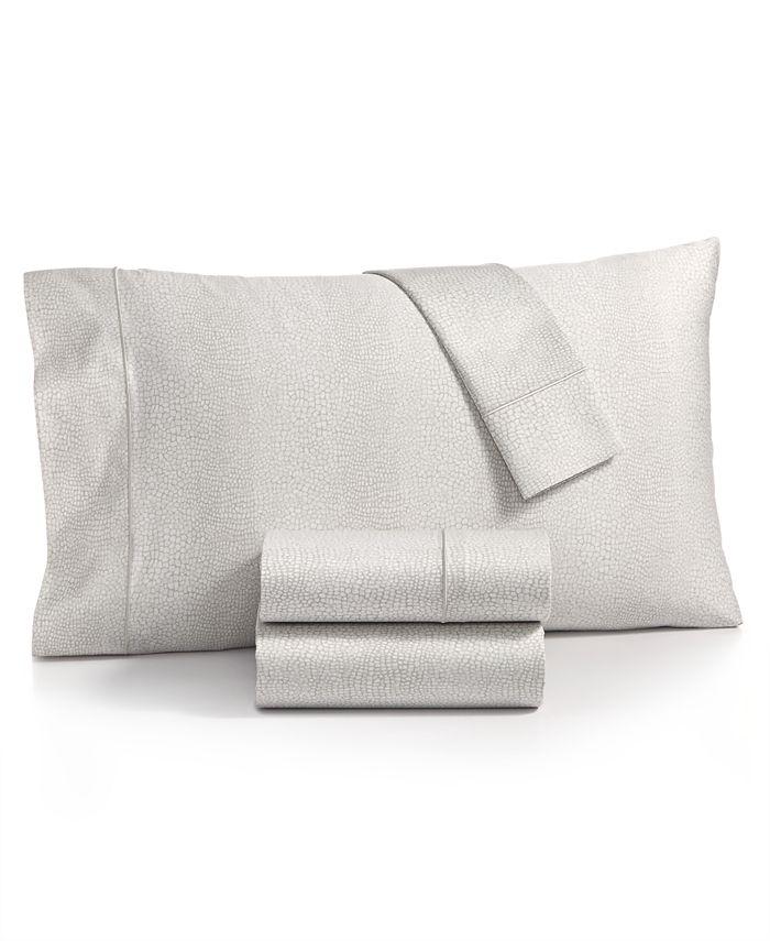 Charter Club - Sleep Luxe Cotton 800-Thread Count 4-Pc. Printed Extra Deep Pocket California King Sheet Set