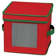 Household Essentials Holiday China Dessert Plate Storage Box