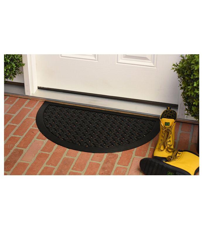 """Home & More - Hampton Weave 20"""" x 36"""" Rubber Doormat"""