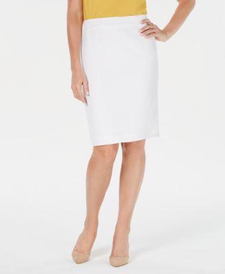 Lightweight Suit Skirt