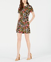 b2ad6de33c1 French Connection Cadencia Stretch Floral-Print Dress