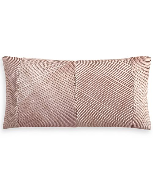 """Hotel Collection Woodrose 14"""" x 28"""" Decorative Pillow, Created for Macy's"""