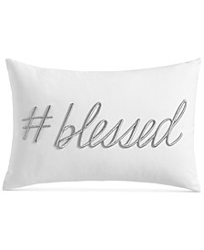 """Word 12"""" x 18"""" Decorative Pillow, Created for Macy's"""