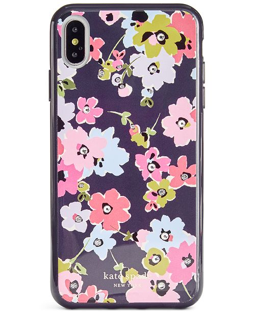 kate spade new york Jeweled Wildflower Bouquet iPhone XS Max Case