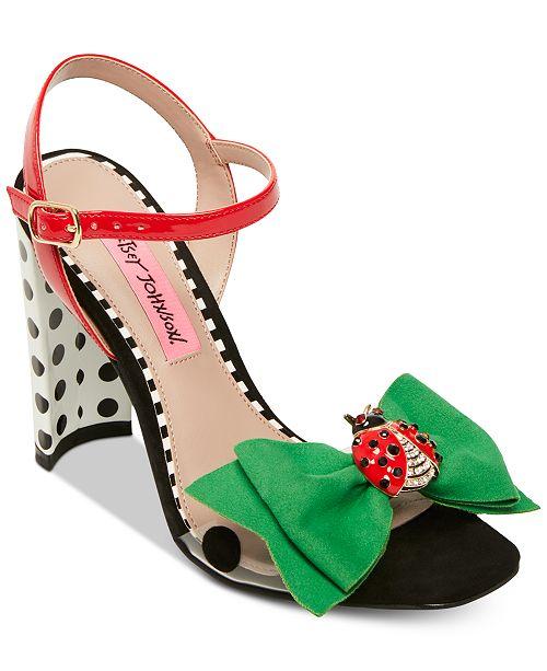 e70ae75443ab1a Betsey Johnson Bini Dress Sandals  Betsey Johnson Bini Dress Sandals ...
