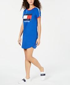 Tommy Hilfiger Sport Logo Graphic Dress