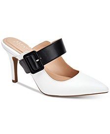 Sewell Buckled Dress Mules, Created for Macy's