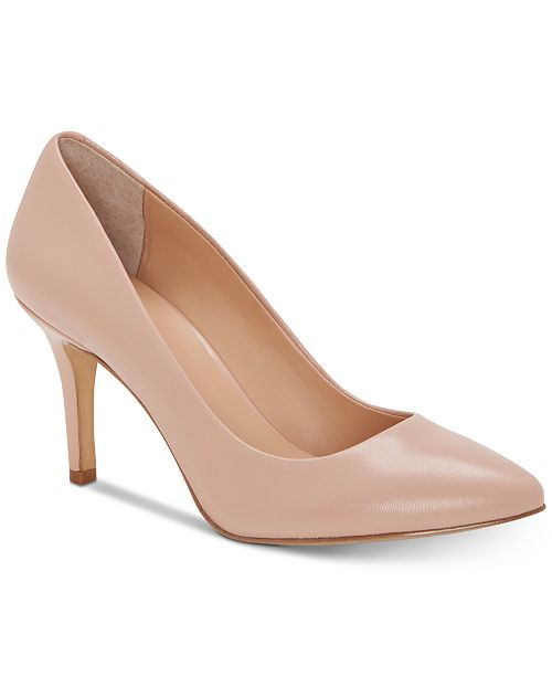 INC International Concepts INC Women's Zitah Pointed Toe Pumps, Created for Macy's