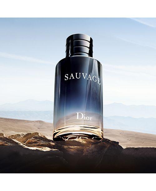 Dior Sauvage Eau De Toilette Fragrance Collection Reviews Shop