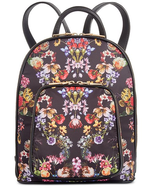 INC International Concepts I.N.C. Farahh Nylon Backpack, Created for Macy's