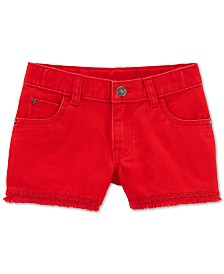 Carter's Little & Big Girls Cotton Twill Shorts