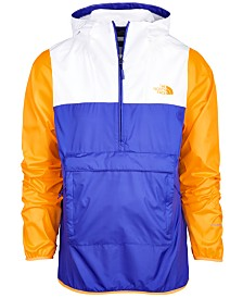 The North Face Men's Fanorak Water-Repellent Colorblocked Windbreaker
