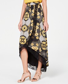 Thalia Sodi High-Low Maxi Skirt, Created for Macy's