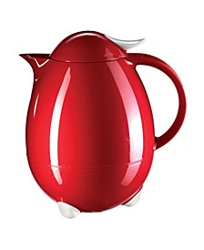 Columbus Hot and Cold Carafe, 1 L Dark Red