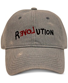 Sean John Men's Revolution Heavy Wash Denim Baseball Hat, Created for Macy's